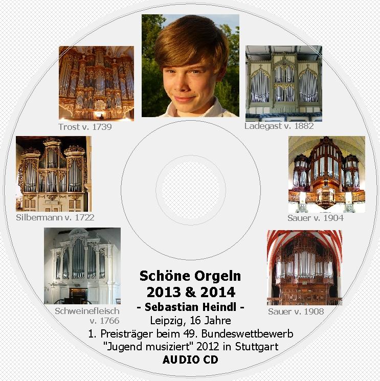 Etikett Sebastian Orgel-CD 2014