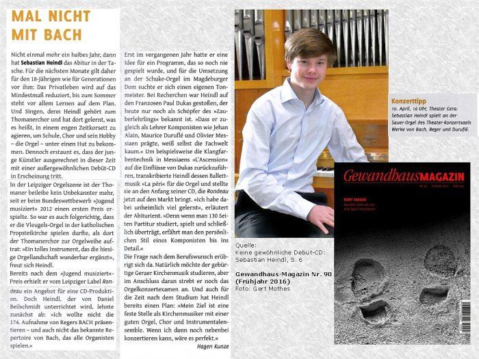 Presse Gewandhaus-Magazin Nr.90